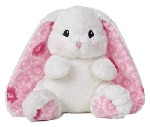 (Aurora World Lopsie Wopsie Bunny Plush, White, 13