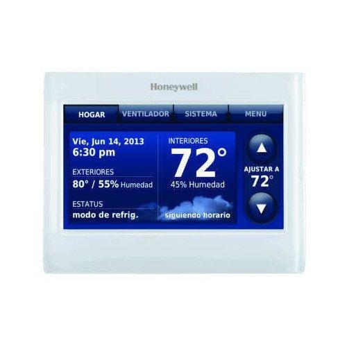 Honeywell THX9421R5021WW Redlink Prestige IAQ Color Touchscreen Thermostat (Renewed)