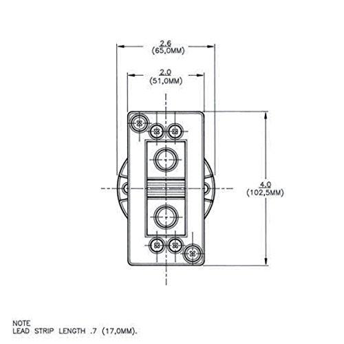 OSRAM SYLVANIA G38 Socket No Leads