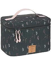 LÄSSIG 1106018578 Lässig baby luiertafel organizer luier-organizer om mee te nemen, casual, caddy To Go Blobs Forest, groen, 178 g