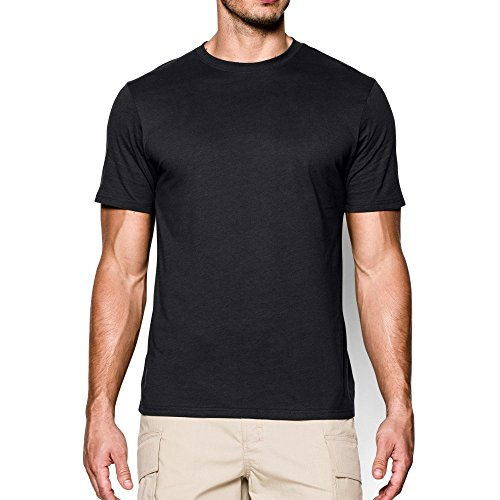 Under Armour Men's Tactical Charged Cotton, Black/None, X-La