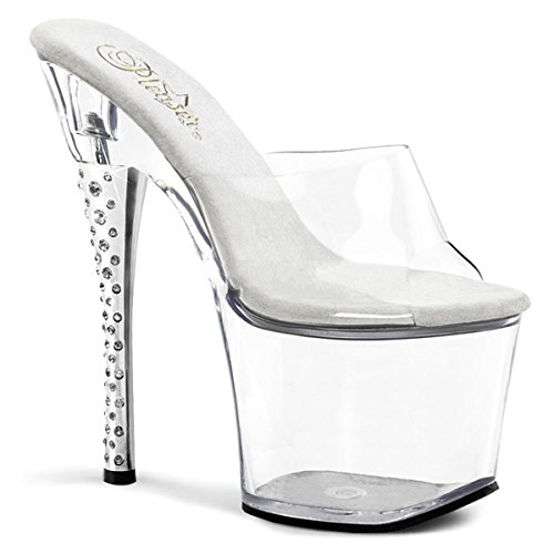 Pleaser Diamond-701 - Sexy Plateau High Heels Sandaletten 35-43