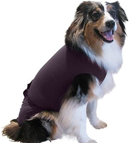 1 Plum ML - Inventors Of The Original E Collar Alternative With Antimicrobial, Comforts Your Pet And Protects Wounds, Stitches And Bandages, Aids Hot Spots, and Provides Anti Anxiety Relief - EC