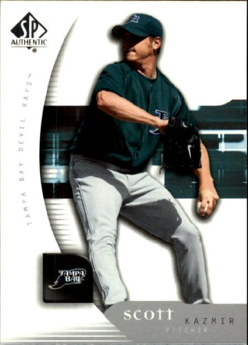 2005 Sp Authentic Baseball Card - 2005 SP Authentic Baseball Card #87 Scott Kazmir