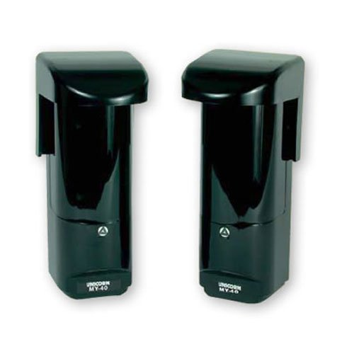 ALEPH MY-40 Photoelectric Dual Beam Detectors Coverage Distance: 130 ft. Outdoor or 260 ft. Indoor