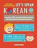 Let's Speak Korean: Learn Over 1,400+ Expressions