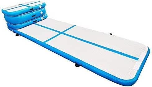 Amazon.com: Happybuy - Esterilla hinchable para gimnasia de ...