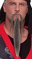 Forum Novelties Men's Novelty Warrior Beard and Mustache