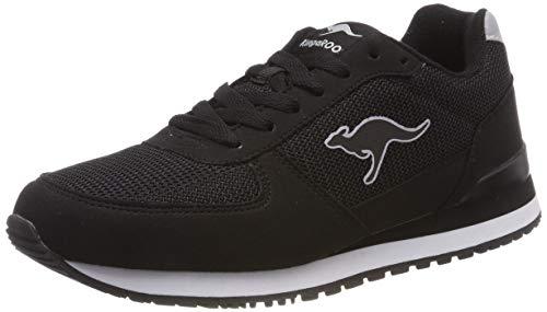 Mens Kangaroo Sneakers - KangaROOS Unisex's Retro Racer Trainers, Schwarz (Jet Black 5001) 6.5 UK