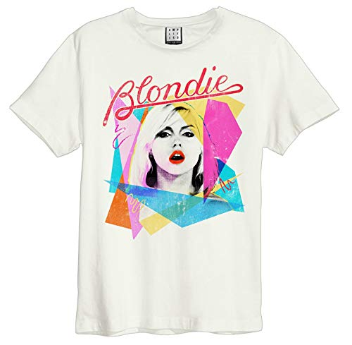 Official Amplified Blondie Ahoy 80s Womens T-Shirt, XS to XL