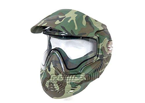 Valken Annex MI-7 Camo Woodland Paintball Goggles