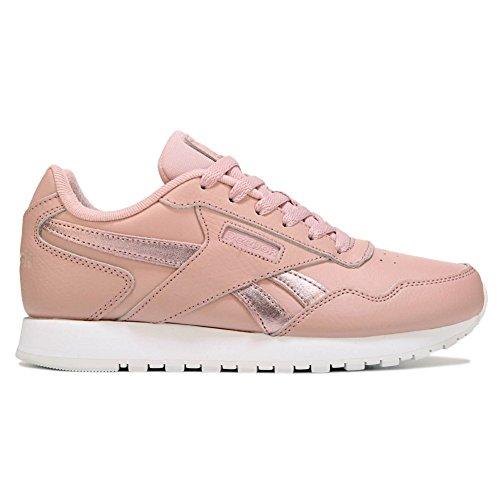 (Reebok Classic Harman Run Sneaker, us-Shell Pink/Rose Gold/w, 7 M US)