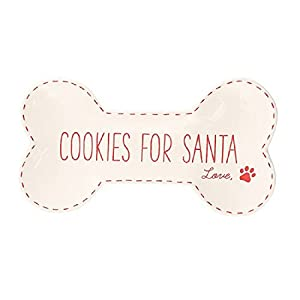Dog Mom Cookies for Santa Plate