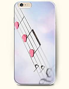 OOFIT Apple iPhone 6 Case 4.7 Inches - Love and Music Note by icecream design