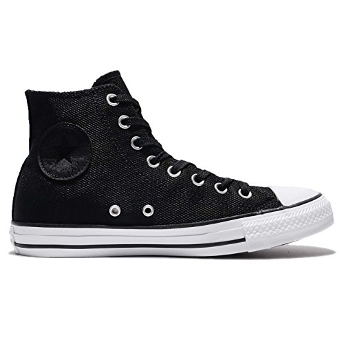 Converse Womens Chuck Taylor All Star Hi Canvas Trainers Schwarz