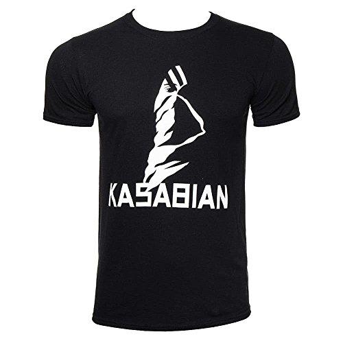 Kasabian T-shirts - Kasabian Ultraface Official Band T-Shirt Mens Black Music Top Tee T Shirt Medium