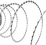 SKB Family NATO Razor Wire Helical Wire Roll Galvanized Steel 328'