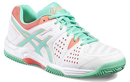 women Cockatoo Sg Gel 39m Asics 3 Pro Tennis Padel White xa776Y