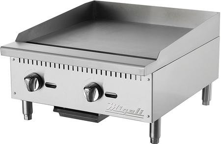 (Migali C-G25 Competitor Series Griddle, countertop, 24
