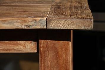 Esstisch Santoso - Tisch aus altem Holz von Wooden Affairs - antikes ...