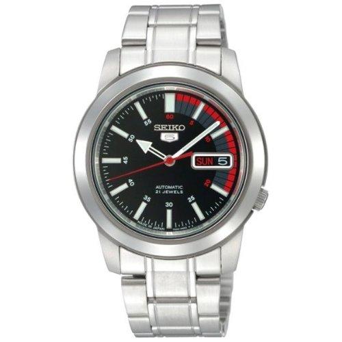 Reloj Seiko 5 Gent SNKK31K1 - Analógico Automático para Hombre en Acero inoxidable: Amazon.es: Relojes