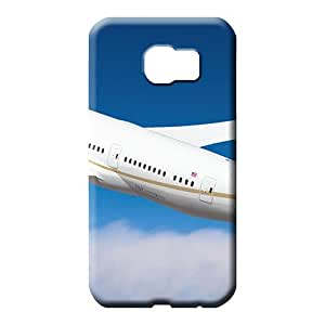 samsung galaxy s6 phone carrying cases Plastic Brand Fashionable Design united airlines boeing 787 dreamliner