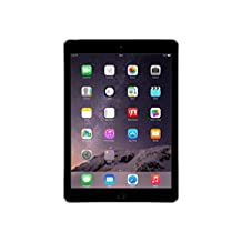 Apple iPad Air 2 MGL12LL/A 9.7 inch Screen Size Tablet, 16 GB, Wi-Fi (Space Gray) (Refurbished)