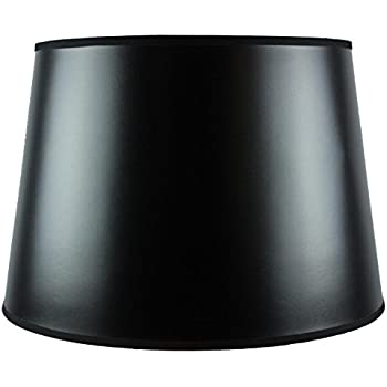 13x16x11 black parchment gold lined floor lampshade with brass 13x16x11 black parchment gold lined floor lampshade with brass spider fitter by home concept aloadofball Gallery