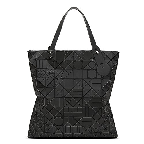 Handbag Holographic Diamond Black Prism Treasure Lattice Black XAqOwO