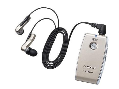パイオニア フェミミ集音器 M700 ゴールド TPVMR-M700-N