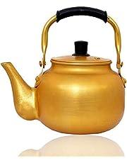 ابريق شاي اصفر مقاس 1.5 لتر