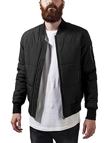 Jacket Nero Classics Bomber Quilt Basic Uomo black Urban Giacca wTI0HqFqd