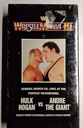 WWF - Wrestlemania 3 March 29, 1987: Hulk Hogan Vs for sale  Delivered anywhere in Canada