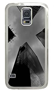 Big City Custom Samsung Galaxy S5 Case Back Cover, Snap-on Shell Case Polycarbonate PC Plastic Hard Case Transparent