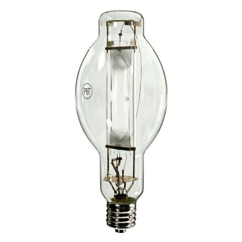- 1000W Metal Halide Light Bulb - BT37 - Probe Start - 4200K - ANSI M47/E - Mogul Base - Universal Burn - MH1000/BT37/U/4K
