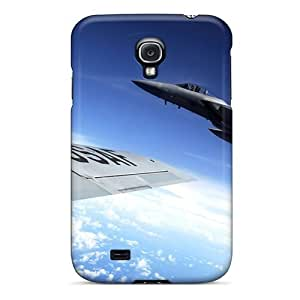 New Diy Design F 15 Eagle Flies Alongside A Kc 135 Stratotanker For Galaxy S4 Cases Comfortable For Lovers And Friends For Christmas Gifts