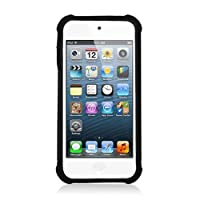 Eagle Cell Armor Vision Silicone and Hard Cover for iPod touch 5 (Black)
