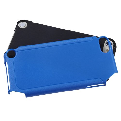 Asmyna Dark Blue/Black Frosted Fusion Protector Cover for iPod touch 5
