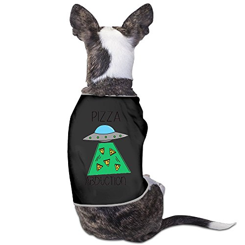 Alien Dog Costumes (Funny Guest Alien Abduct Earth Pizza Small Dog SummerCute Tank Tops Costumes)