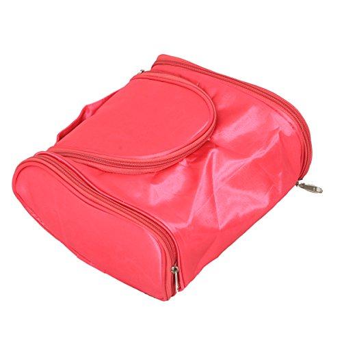 Kuber Industries Pink Toiletry Bag  KULS04306