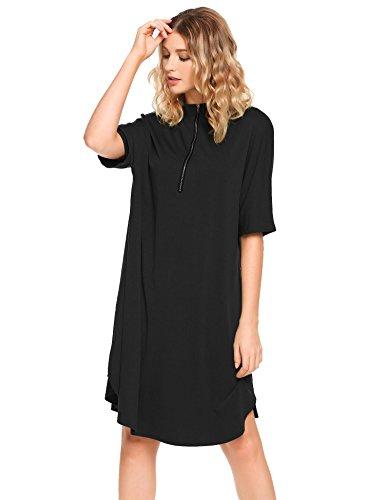 Zip Sleeve Dress - 3