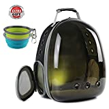Cat Carrying Backpack, Polarized Transparent Bubble Cat Hiking Backpack UV Protection (Polarized Brown)