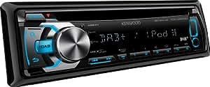 Kenwood Electronics KDC-DAB43U sintonizador de CD/DVD para el coche - Radio para coche (FM, LW, MW, 87.5-108 MHz, 153-279 kHz, LCD, Negro, 200 W) (importado)