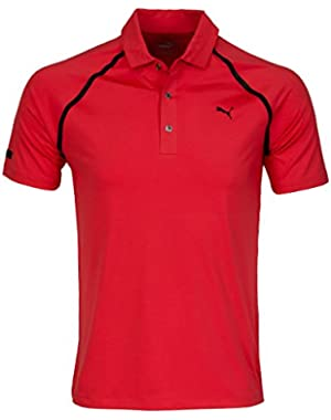 Golf Men's Lux Sport Polo Shirt - US M - Cayenne