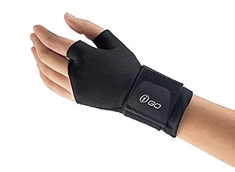 Active Support Compression Glove for Arthritis, Tendonitis, Stress Injury, for Left or Right Hand (LG/XL)