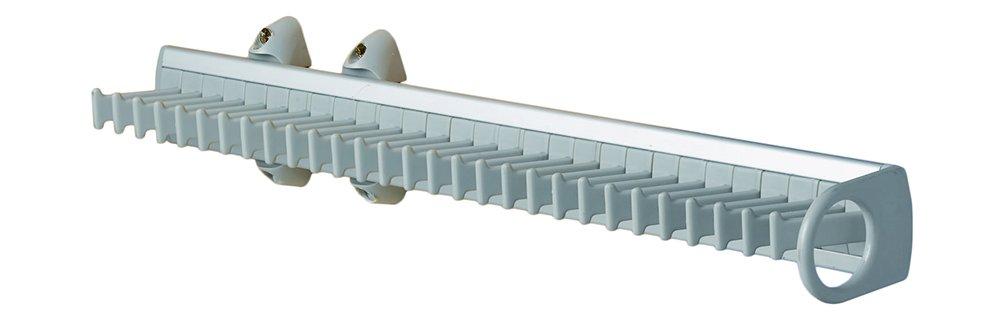 esteco 106hp Krawattenhalter extrible 45/cm Aluminium