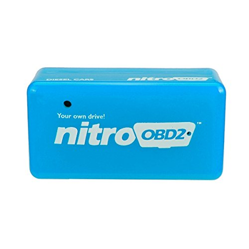 Alamor Eco OBD2 Economy Chip Tuning Box Diesel Blue Power Fuel Optimization Device