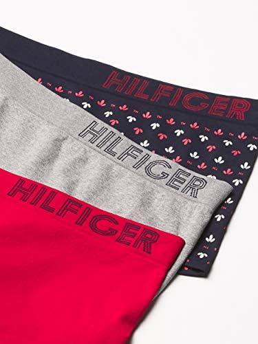 Tommy Hilfiger Women's Seamless Boyshort Underwear Panty, Multipack
