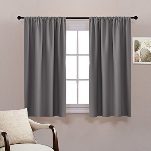Bedroom Curtains On Amazon Small Bedroom Ideas Nyc Chalkboard Art Bedroom Bedroom Sets For Girls: Rod Pocket Blackout Curtains Set
