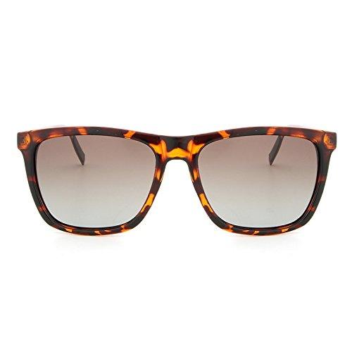 polarizaron cuadrado hombres vidrios los magnesio de UV400 gafas Marco que de de conducía manera Brown MXNET sol la sol Los aluminio nuevos de de las YFEx7p